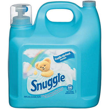 Snuggle Softener Blue Sparkle - 300 oz.