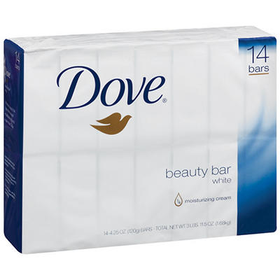 Dove White Beauty Bar - 14/4.0 oz.