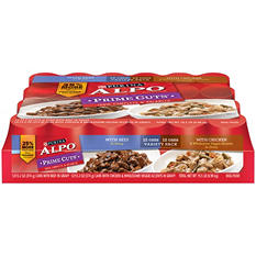Purina Alpo Prime Cuts in Gravy Wet Dog Food Variety Pack - 24 pk.