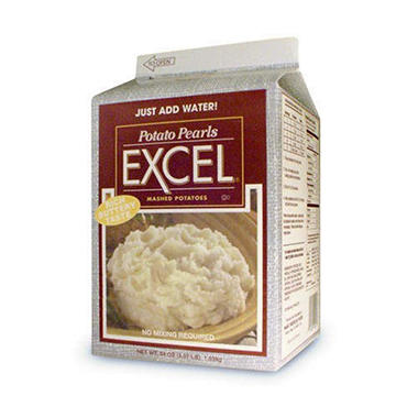 Potato Pearls Excel® Mashed Potatoes - 3/37 lb.