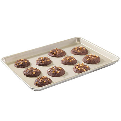 Nordic Ware Naturals Gold Finish Non-stick Aluminum Baking Sheet 3-Piece Set