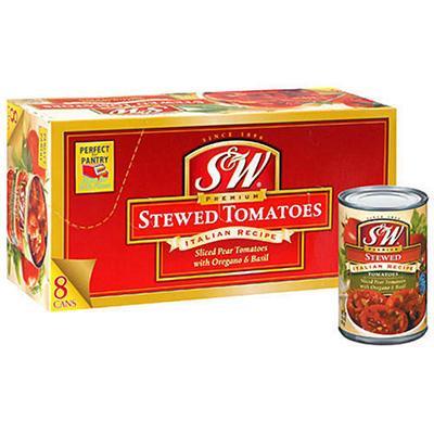 S&W Premium Stewed Tomatoes