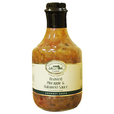 Robert Rothschild Farm Roasted Pineapple & Habanero Sauce - 37 oz.
