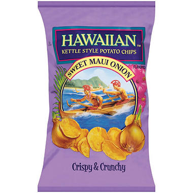 Hawaiian™ Sweet Maui Onion Kettle Style Potato Chips - 32 oz.