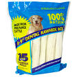Rawhide Dental Rolls - 15 ct.
