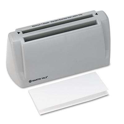 Martin Yale - Model P6200 Desktop Paper Folder, 1800 Sheets per Hour
