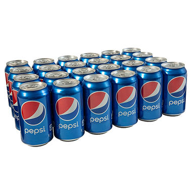 Pepsi - 12 oz. cans - 6 pk. - 4 ct.