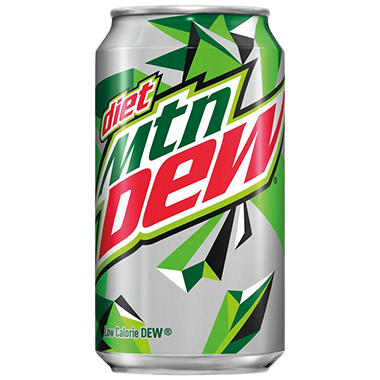 Diet Mountain Dew (12 oz. cans, 24 pk.)