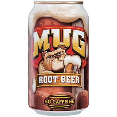 Mug® Root Beer - 24/12 oz. cans