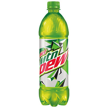 Diet Mountain Dew (24 oz. bottles, 24 pk.)