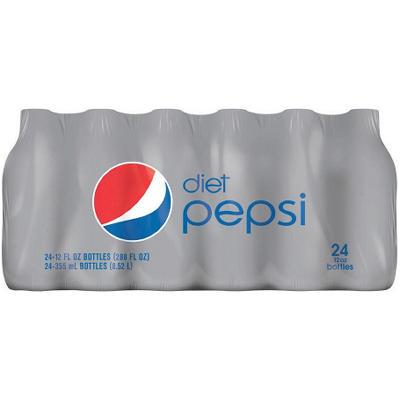 Diet Pepsi (12 oz. bottles, 24 pk.)