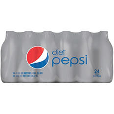 Diet Pepsi (12 oz. bottles, 24 ct.)