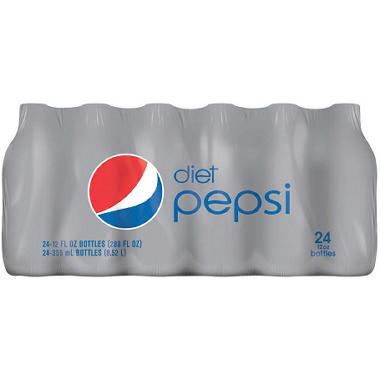 Diet Pepsi - 12 oz. bottles - 24 pk.