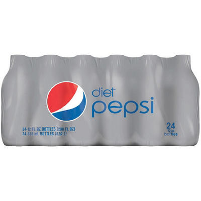 Diet Pepsi (12 oz. bottles, 24 pk.)