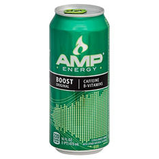 AMP Energy Original Citrus Flavored Energy Drink (16 fl. oz. cans, 12 pk.)