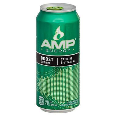 AMP Energy, 16oz. (12pk.)