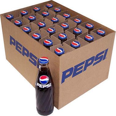 Pepsi® - 24/10oz glass bottles