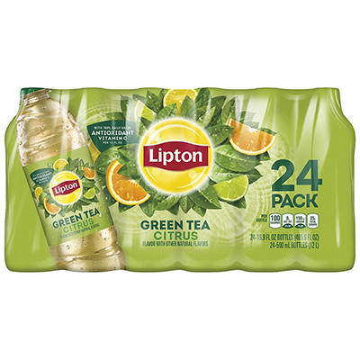 Lipton Green Tea with Citrus - 16.9 oz. bottles - 24 pk.