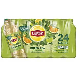 Lipton Green Tea with Citrus (16.9 fl. oz. bottles, 24 pk.)