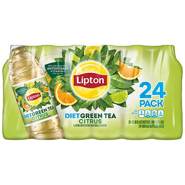 Lipton Diet Green Tea with Citrus (16.9 oz., 24 pk.)