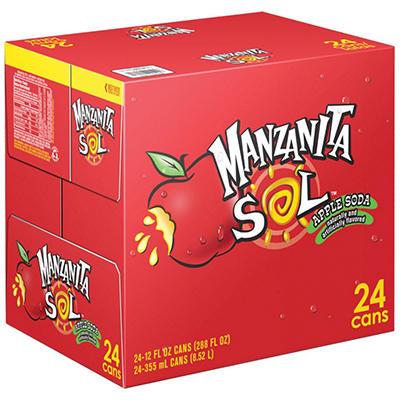 Manzanita Sol, 24/12 Oz. Cans