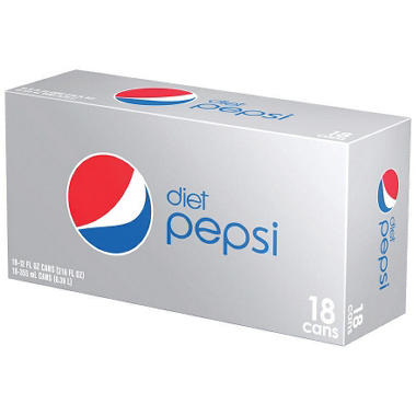 Diet Pepsi (12 oz. cans, 18 pk.)