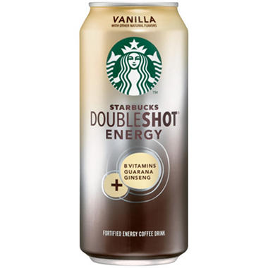 Starbucks Doubleshot Energy + Coffee, 15oz (12pk.)