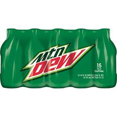 Mountain Dew (16 oz. bottles, 15 pk.)