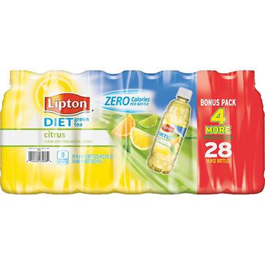 Lipton Diet Green Tea with Citrus (16.9 oz. bottles, 28 pk.)