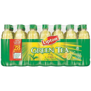 Lipton Green Tea w/ Citrus - 16.9 oz. bottles - 28 pk.