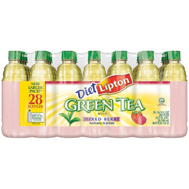 Lipton Diet Green Tea Mixed Berry (16.9 oz. bottles, 28 pk.)