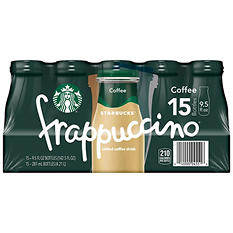 Starbucks Frappuccino Coffee Drink, Coffee (9.5 oz. bottles, 15 pk.)