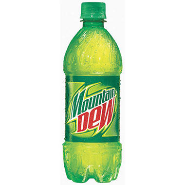 Mountain Dew - 20 oz. bottles - 12 pk.