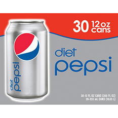 Diet Pepsi (12 oz. cans, 30 pk.)