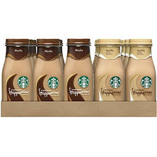 Starbucks Frappuccino Coffee Drink, Mocha (9.5 oz. bottles, 15 pk.)