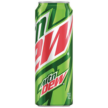 Mountain Dew (24 oz. cans, 12 pk.)
