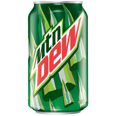 MOUNTAIN DEW 32 / 12 OZ CANS