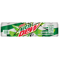 Diet Mountain Dew (12 oz. cans, 32 ct.)