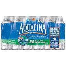 Aquafina Purified Drinking Water (20 fl. oz. bottles, 24 pk.)