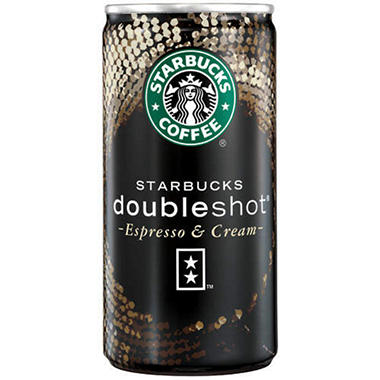 Starbucks Coffee® doubleshot® - 12/6.5 oz. cans