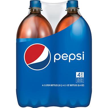 Pepsi (2L bottles, 4 pk.)
