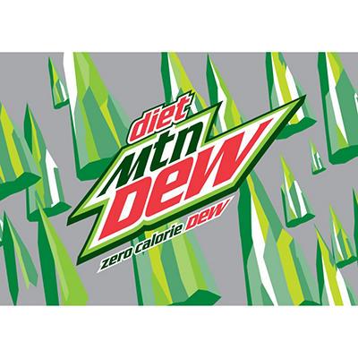 Diet Mountain Dew (16.9 oz. bottles, 24 pk.)