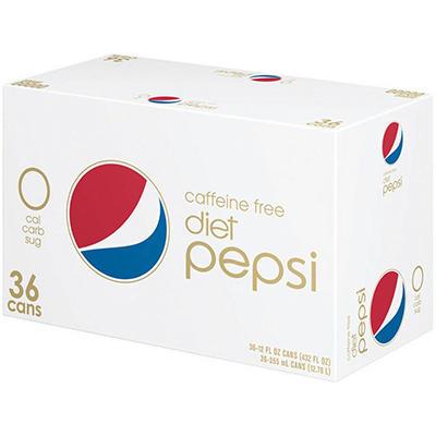 Diet Pepsi Caffeine Free (12 oz. cans, 36 pk.)