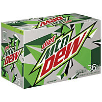 Diet Mountain Dew (12 oz. cans, 36 ct.)