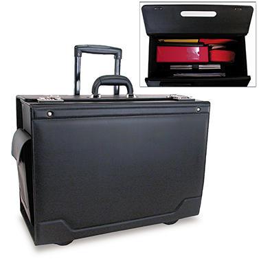 Stebco Wheeled Catalog Case - Black