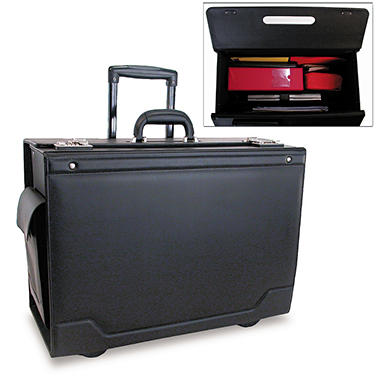 Stebco Wheeled Catalog Case - Black