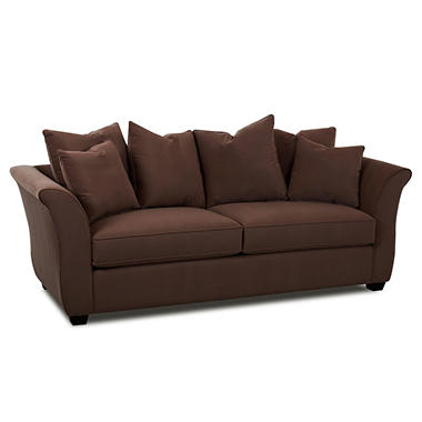 Kara Queen Sleeper Sofa - Chocolate