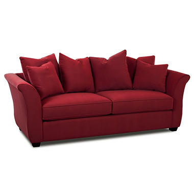 Kara Queen Sleeper Sofa - Berry