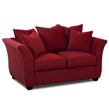 Kara Loveseat - Berry