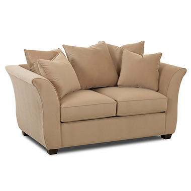 Kara Loveseat by Prestige Designs - Coffee